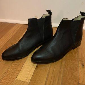 Nisolo Black Chelsea Boot w/ Weatherproofing